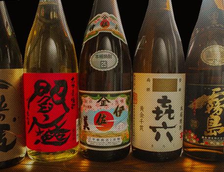 焼酎・日本酒  グビッと酎ハイ、ちびちび日本酒。